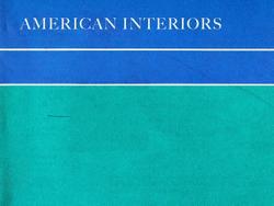 Casteel, M L: American Interiors.
