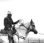 Adam Jahiel: Fritz Merek, Horseback, 1994