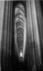 Blaine Ellis: Gothic Arches, Alcobaca Monastery, 2004