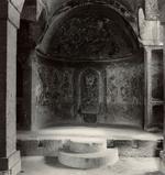 Blaine Ellis: Altar, cut rock church, Cappodocia, 2000