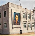 Hiroshi Watanabe: Movie Billboard, Jonsun Co-operative Farm, North Korea