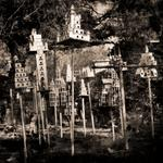 Keith Carter: Full Length Birdhouses