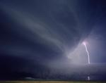Kevin Erskine: Mothership with Lightning, Valentine, Nebraska, 2009