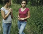 Lydia Panas: Asha and Oksana, 2005