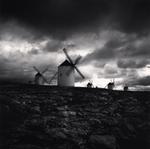 Michael Kenna: Quixote's Giants, Study 3, Campo de Criptana, La Mancha, Spain, 1996