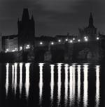 Michael Kenna: Charles Bridge, Study 10, Prague, Czech Republic, 2007