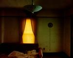 Steve Fitch: Living room in a house in Carlyle, eastern Montana, June 8, 2000
