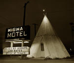 Steve Fitch: Motel, Highway 66, Holbrook, Arizona, 1973