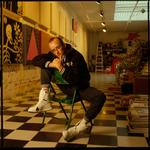William Coupon: Keith Haring in the Studio, New York City, 1988